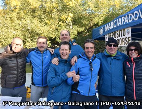 6ª Pasquetta a Galzignano • Galzignano T. (PD) • 02/04/2018