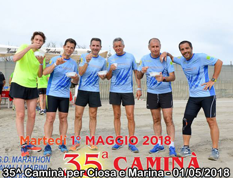 35^ Caminà per Ciosa e Marina - 01/05/2018