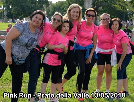 Pink Run - Prato della Valle 13/05/2018