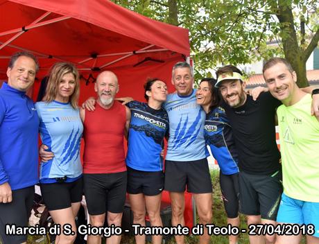Marcia di S. Giorgio - Tramonte di Teolo - 27/04/2018