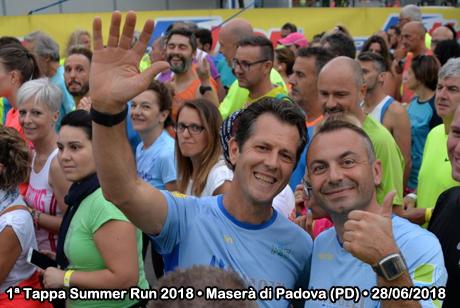 1ª Tappa Summer Run 2018 • Maserà di Padova (PD) • 28/06/2018