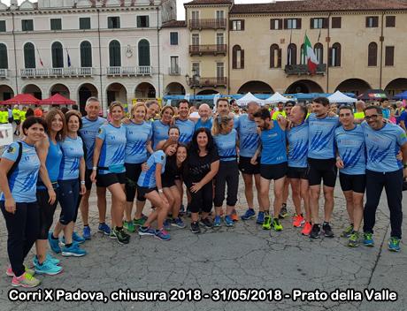 Corri X Padova, chiusura 2018 - 31/05/2018 - Prato della Valle