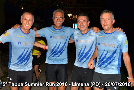 5ª Tappa Summer Run 2018 • Limena (PD) • 26/07/2018