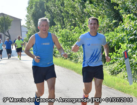 9ª Marcia del Casone • Arzergrande (PD) • 01/07/2018