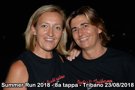 Summer Run 2018 - 8a tappa - Tribano 23/08/2018