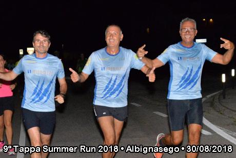 9ª Tappa Summer Run 2018 • Albignasego (PD) • 30/08/2018