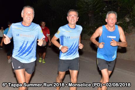 6ª Tappa Summer Run 2018 • Monselice (PD) • 02/08/2018