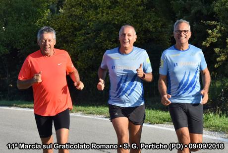 11ª Marcia sul Graticolato Romano • S. Giorgio delle Pertiche (PD) • 09/09/2018