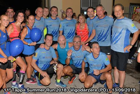 11ª Tappa Summer Run 2018 • Vigodarzere (PD) • 13/09/2018