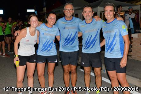 12ª Tappa Summer Run 2018 • Ponte San Nicolò (PD) • 20/09/2018