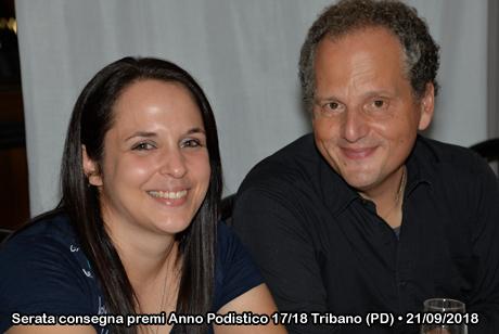 Serata consegna premi Anno Podistico 2017-2018 • Pizzeria Al Paiolo - Tribano (PD) • 21/09/2018