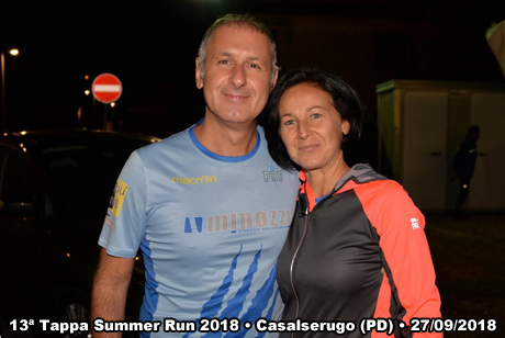 13ª Tappa Summer Run 2018 • Casalserugo (PD) • 27/09/2018