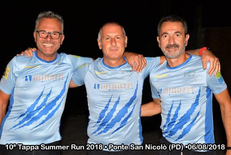 10ª Tappa Summer Run 2018 • Ponte San Nicolò (PD) •06/08/2018