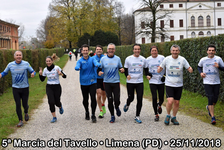 5ª Marcia del Tavello • Limena (PD) • 25/11/2018