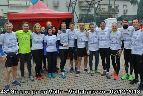 43ª Su e xo pa ea Volta – Voltabarozzo - 02/12/2018